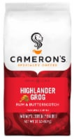 Cameron's Highlander Grog Rum & Butterscotch Light Roast Ground Coffee