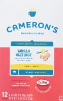Cameron's Vanilla Hazelnut Single Serve Coffee Pods