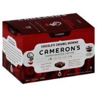 Cameron's Chocolate Caramel Brownie Blend Coffee Pods 12 Count