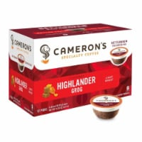 Cameron's Highlander Grog Rum & Butterscotch Specialty Coffee Pods