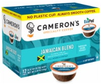 Cameron's Jamaica Blue Mountain Blend Single Serve Coffee Pods 12 Count