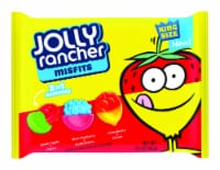 Jolly Rancher Misfits Assorted Fruit Gummi Candy 3.4 oz. - Case Of: 12;