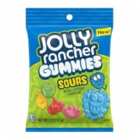 Jolly Rancher Assorted Fruit Sour Gummie Candy 5 - Case Of: 12; - 1