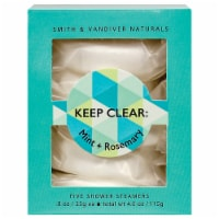 Smith & Vandiver Naturals Keep Clear Mint and Rosemary Shower Steamers