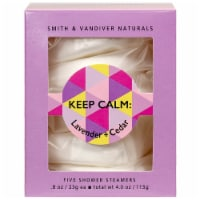 Smith & Vandiver Naturals Keep Calm Lavender and Cedar Shower Steamers