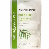 Smith & Vandiver Aromatherapaes Breathe Eucalyptus & Peppermint Shower Tablets