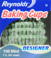 Reynolds Designer Mini Paper Baking Cups