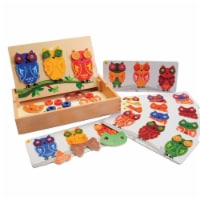 Marvel Education 1531961 Marvel Education Mix & Match Magnetic Owls