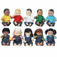 Marvel Education Company Mtc5002 Dolls Multi-Ethnic 10-Doll S-Chool Set