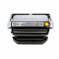 T-fal OptiGrill Plus Stainless Steel Indoor Electric Grill