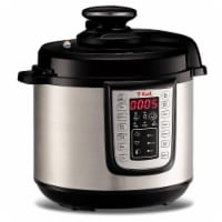 T-fal Electric Pressure Cooker - Silver/Black
