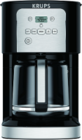 Krups ThermoBrew Programmable Coffee Maker - Black/Silver