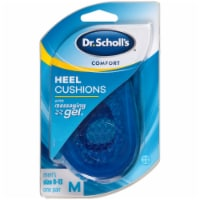 Dr. Scholl's Men's Comfort Heel Cushions with Massaging Gel Size 8-13