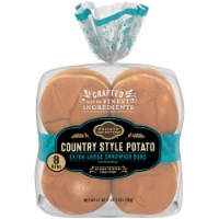Private Selection™ Country Style Potato Extra Large Sandwich Buns 8 Count