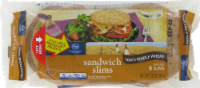 Kroger® 100% Whole Wheat Sandwich Slims 8 Count