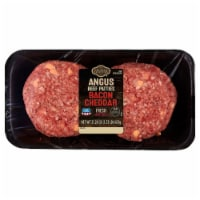 Kroger® Bacon Cheddar Beef Patties