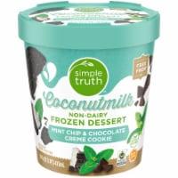 Simple Truth™ Coconut Milk Mint Chip & Chocolate Creme Cookie Non-Dairy Frozen Dessert