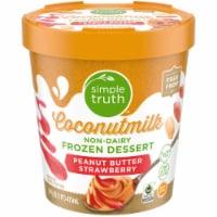Simple Truth™ Peanut Butter Strawberry Coconut Milk Frozen Dessert - 1 pt