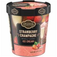 Private Selection® Strawberry Champagne Ice Cream
