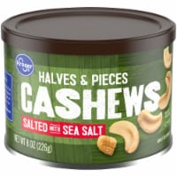 Kroger® Salted Cashew Halves & Pieces