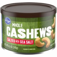 Kroger® Whole Salted with Sea Salt Cashews