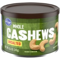 Kroger® Unsalted Whole Cashews