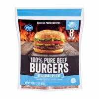 Kroger® 91% Lean Frozen Ground Beef Burger