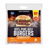 Kroger® 100% Pure Beef Quarter Pound Burgers
