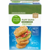 Simple Truth™ Garlic Herb Puff Bunz 8 Count Box