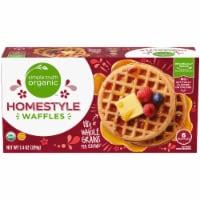 Simple Truth Organic™ Homestyle Waffles - 6 ct / 7.4 oz