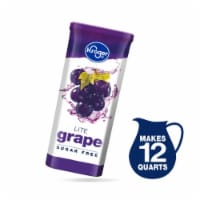 Kroger® Lite Grape Instant Drink Mix 6 Count