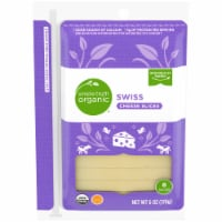 Simple Truth Organic™ Swiss Cheese Slices 8 Count