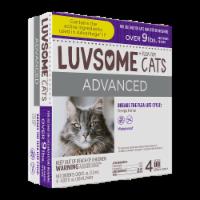 Luvsome Advanced Flea & Tick Drops for Cats