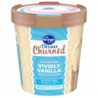 Kroger® Deluxe Churned Vividly Vanilla Ice Cream