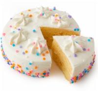 Bakery Fresh Goodness Vanilla Celebration Cake - 16.7 oz