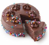 Bakery Fresh Goodness Chocolate Celebration Cake - 6 in