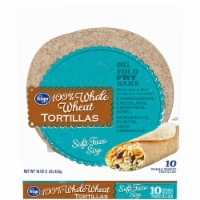 Kroger® Whole Wheat Tortillas 10 Count