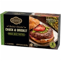 Private Selection™ Chuck & Brisket Angus Beef Patties 6 Count
