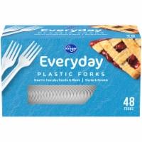 Kroger® Everday Plastic Forks - 48 ct