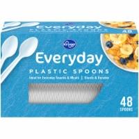 Kroger® Everday Plastic Spoons - 48 ct