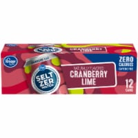 Kroger® Cranberry Lime Seltzer Water