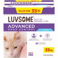 Luvsome™ Advanced Odor Control Scented Multi-Cat Scoopable Litter