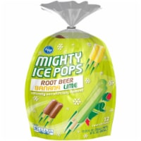 Kroger® Root Beer Banana Lime Mighty Ice Pops
