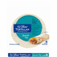 Kroger® Handmade Style Burrito Size Flour Tortillas 8 Count