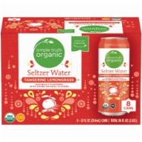 Simple Truth Organic™ Tangerine Lemongrass Seltzer Water 8 Count