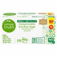 Simple Truth™ Small Compostable Kitchen Bags