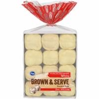 Kroger® White Brown & Serve Enriched Rolls 12 Count