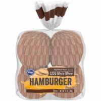 Kroger® 100% Whole Wheat Hamburger Buns