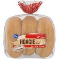 Kroger® White Hoagie Rolls 6 Count