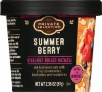 Private Selection™ Summer Berry Steel-Cut Rolled Oatmeal